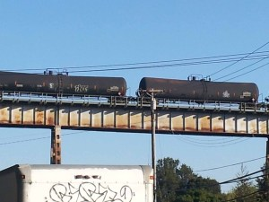 tankers on trestles