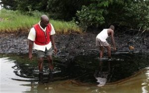 niger Shell oil pollution