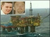 Keith Moncrieff and Sean McCue died in the gas tragedy in 2003. BBC News