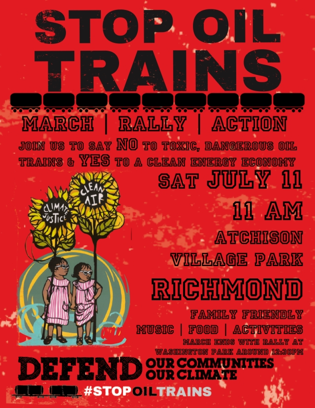 Richmond Action Flyer